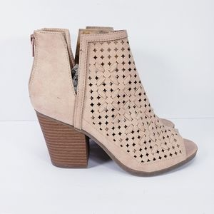 Maurices Tallia Ankle Booties Suede.
